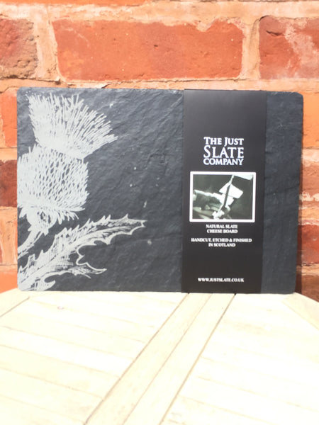 Thistle Slate Cheese Board