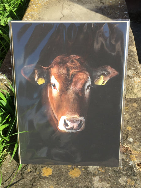 'Penelope' the Cow Print