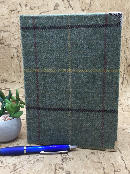 Tweed Covered A5 Notebook