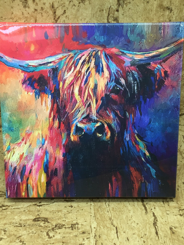 Highland Cow Canvas (2 sizes available)