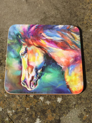 Chestnut Horse Coaster