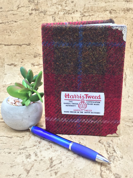 Tweed Covered A6 Notebook