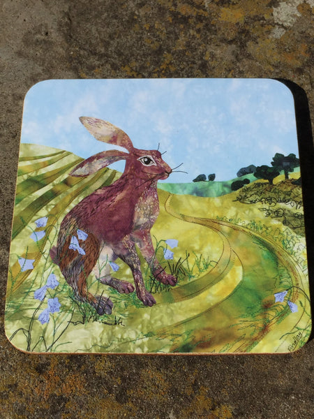 Downland Hare Coaster