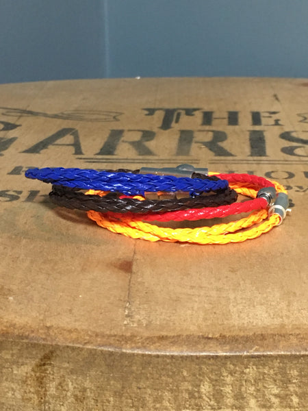 Handmade Leather Braided Bracelets