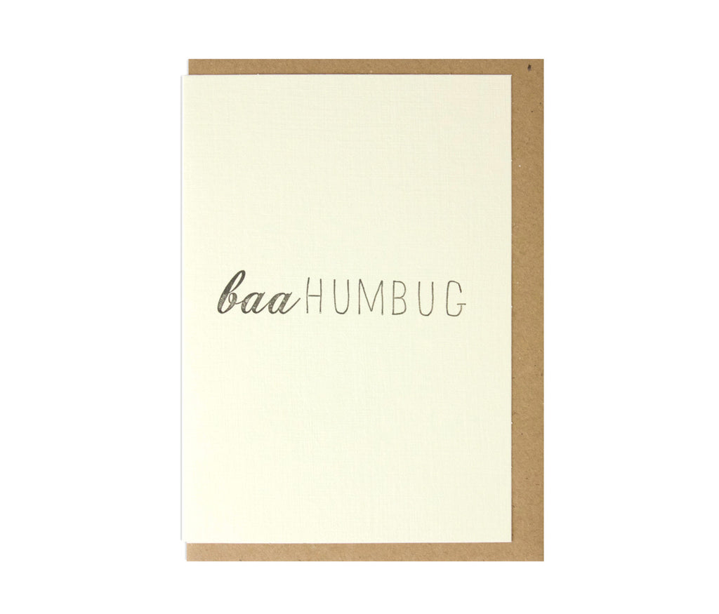 Baa Humbug! Christmas Card