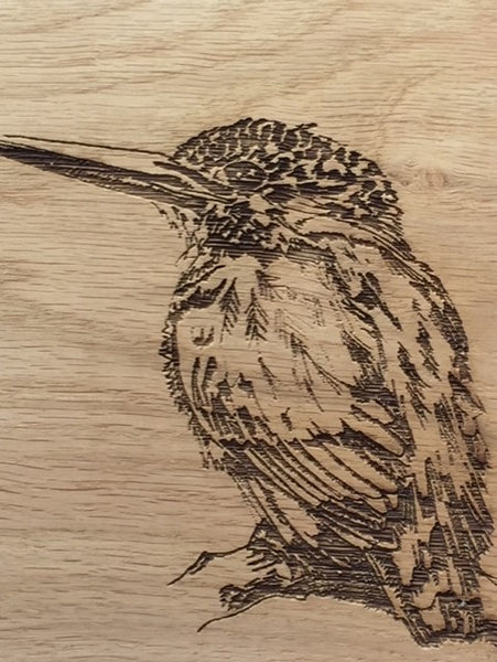 Kingfisher Oak Serving Board