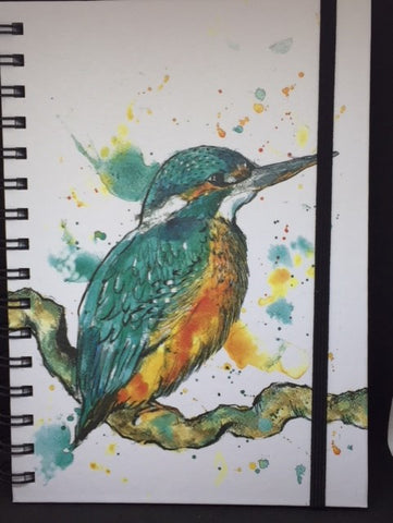 A5 Kingfisher Notebook
