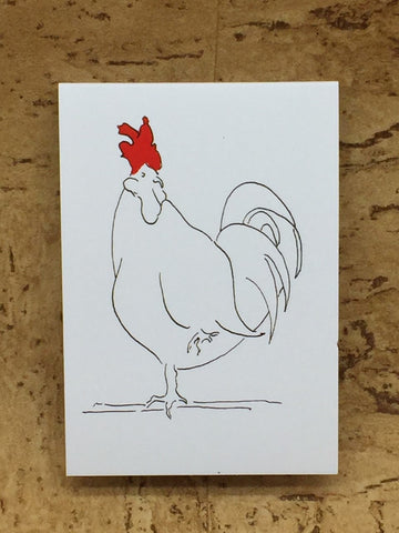 Magnetic Cockerel Notepad