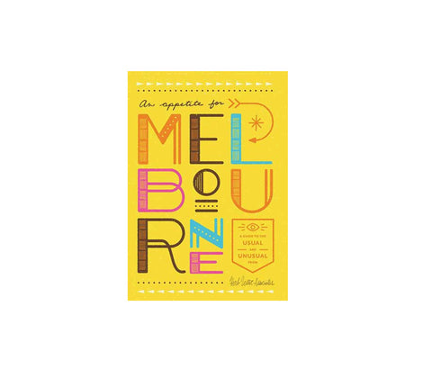 An Appetite For Melbourne Map