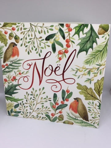 Noel Robin Christmas Charity Cards