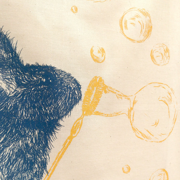 Norman Rabbit Tea Towel