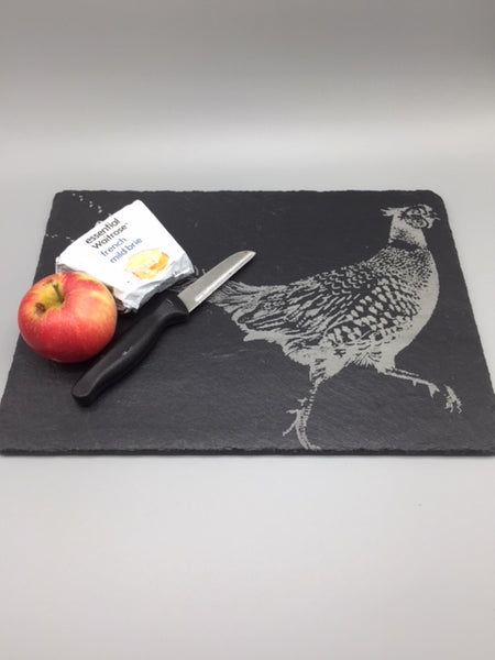 Pheasant Slate Cheese Board