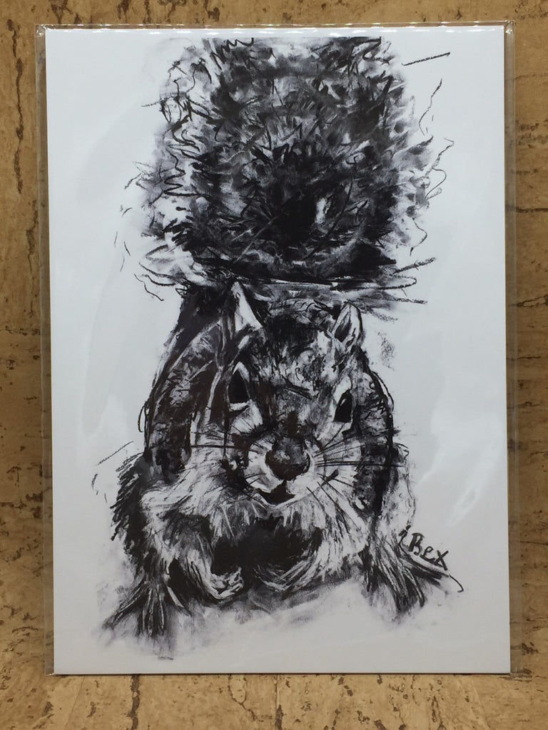 Squirrel Original Print