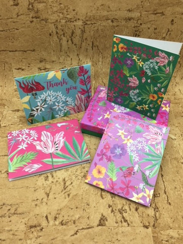 'Wild Verge' Notelet Box
