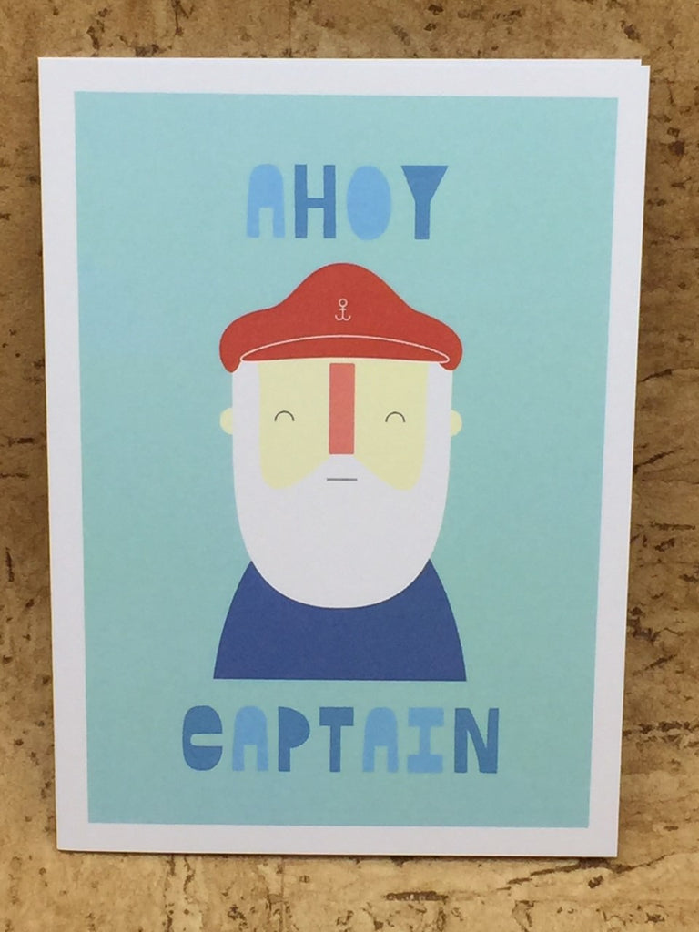 Ahoy Greeting Card