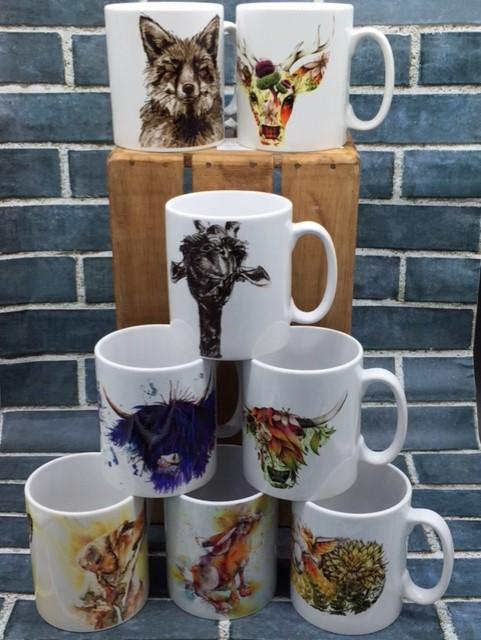 Mugs, Cups & Kitchenware