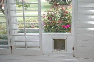 "CAT DOOR WINDOW INSERT - 3/4"" PVC BASE Starting at.."