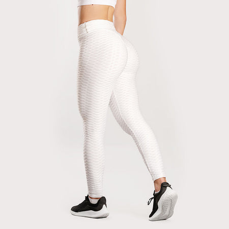 Anti-Cellulite Push-up Leggings White