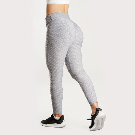 Anti-Cellulite Push-up Leggings Grey