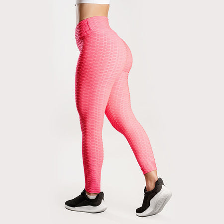 Anti-Cellulite Push-up Leggings Pink