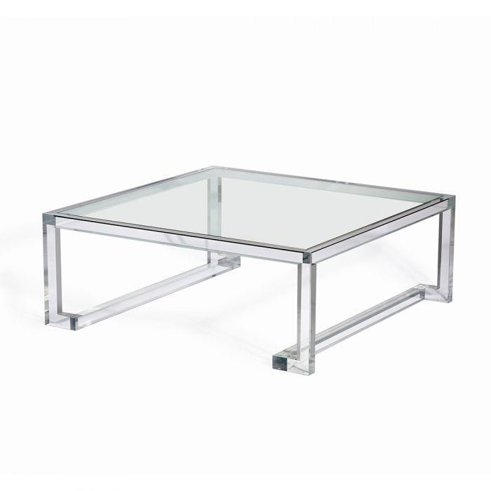 Ava Square Cocktail Table - Interlude Home