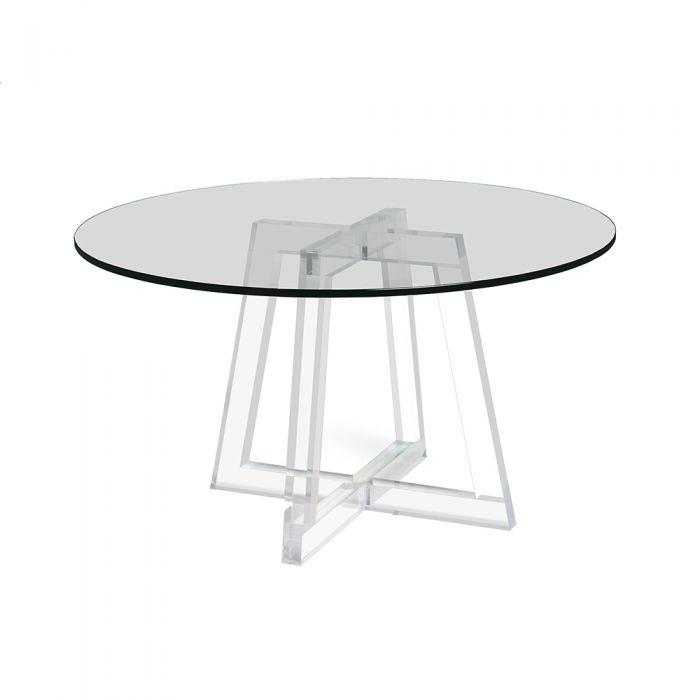 Stella Acrylic Dining Table - Interlude Home