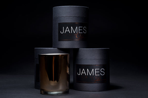 Harvest Luxury Candle - JAMES By Jimmy DeLaurentis