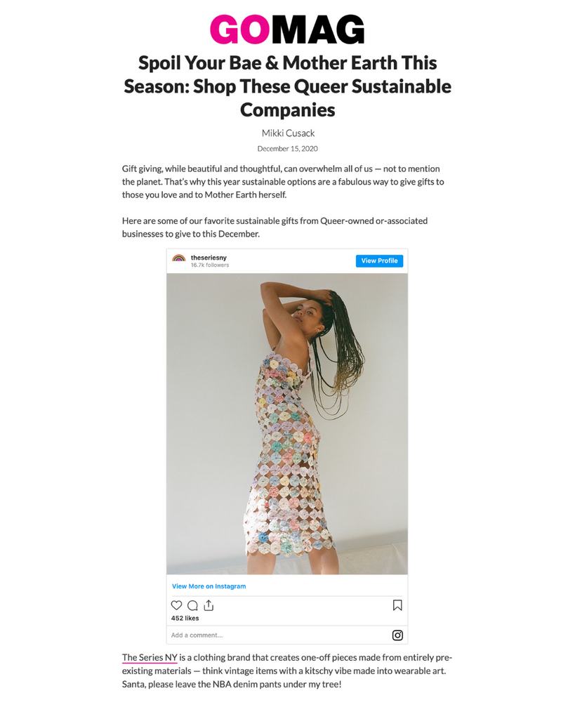 GoMag | Spoil Your Bae & Mother Earth This Season: Shop These Queer Sustainable Companies
