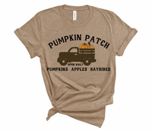 Load image into Gallery viewer, Fall Pumpkin Patch Tee