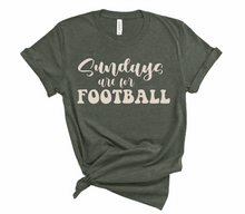 Load image into Gallery viewer, Sundays Are For Football Fall Tee
