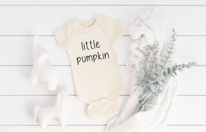 Youth Little Pumpkin Halloween Onesie/Tee