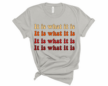 Load image into Gallery viewer, Women's It Is What It Is Tee