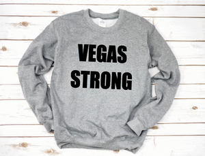 Men's Vegas Stronger Crew Neck