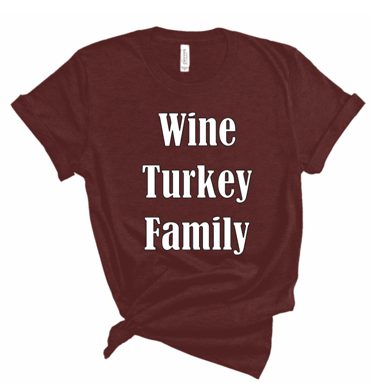 Thanksgiving WTF Tee (Women's)
