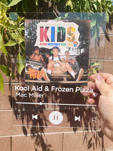 Kool Aid & Frozen Pizza Acrylic Sheet