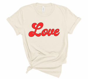 "Women's ""Love"" Valentine's Day Tee"