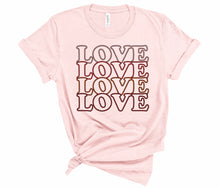 Load image into Gallery viewer, Women's Valentine's Day Love Tee