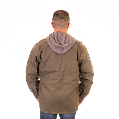 Jacket - Berne Throttle Hooded Shirt