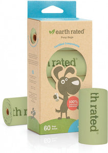 Earth Rated Unscented Vegetable-based Dog Waste Bags