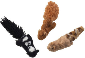 Ethical Pet SPOT Skinneeez Forest Creatures Cat Toys