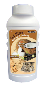 Alzoo Choco Spring Cat Litter Deodorizer