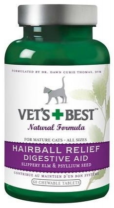 Vet's Best Hairball Relief Digestive Aid Cat Supplement