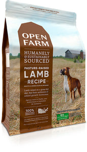 Open Farm Grain-Free Pasture Raised Lamb Recipe Dry Dog Food