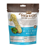 Merrick Fresh Kisses Grain Free Mint Breath Strips Large Dental Dog Treats