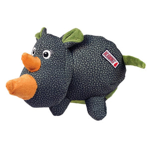KONG Phatz Rhino Plush Dog Toy