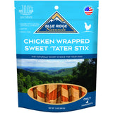 Blue Ridge Naturals Chicken Wrapped Sweet 'Tater Stix Dog Treats