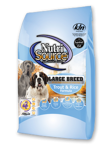 NutriSource Large Breed Trout & Rice Recipe Dry Dog Food