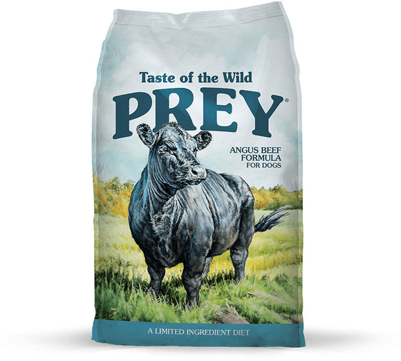 Taste Of The Wild Grain Free Prey Limited Ingredient Angus Beef Dry Dog Food