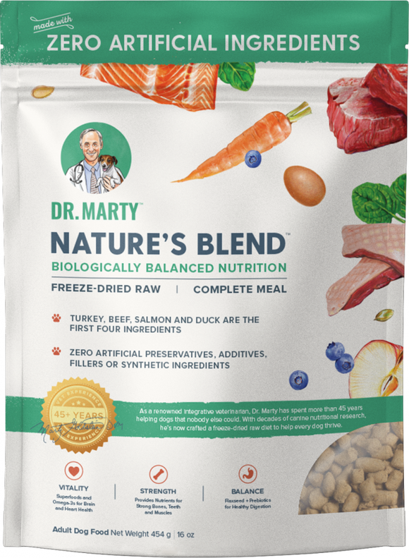 Dr. Marty Nature's Blend Freeze Dried Raw Dog Food
