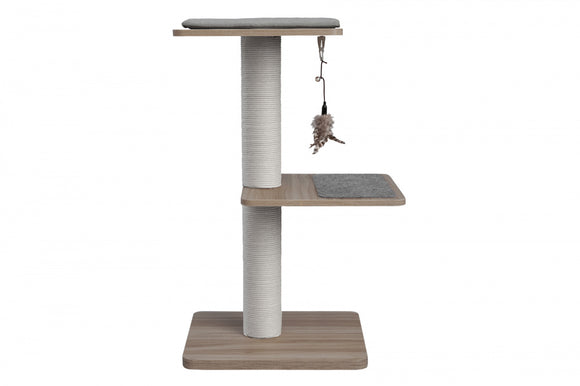 BeOneBreed KATT3 Evo Gray Cat Scratch Post